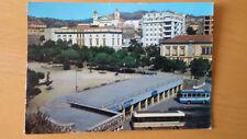 Cartolina Postcard NUORO Piazza Vittorio Emanuele Terminal Autobus viagg. 1973