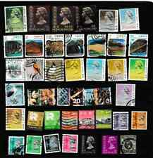 #3020=Hong Kong used selection of different stamps