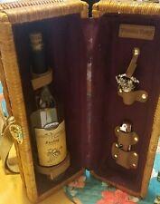 NEW- Picnic Time- Barrel Style Picnic Wine Basket