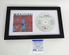 David Byrne Talking Heads Signed Autograph Remain In Light CD Framed PSA/DNA COA
