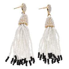 Long Pinata Tassel Earrings Bohemia Beaded Fringe Drop For Women Party Dresses