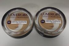 2PK.COVER GIRL SIMPLY AGELESS FOUNDATION+ANTI-AGE SERUM SPF20 CREAMY NATURAL 12g