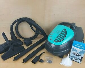 MORPHY RICHARDS 2200 GRIME BUSTER HOME STEAM CLEANING MACHINE & ACCESSORIES