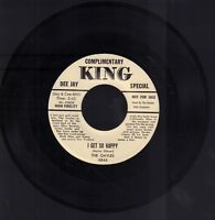 The Gayles I Get So Happy Complimentary KING WLP 45 RPM Vinyl 45AME