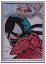 2017 Fleer Ultra Spider-Man BRYAN SILVERBAX SHEPPARD Plexiglass ART SKETCH 1/1
