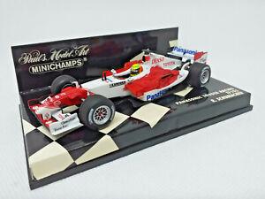 MINICHAMPS 1/43 - PANASONIC TOYOTA RACING TF105 R. Schumacher Art: 400050017