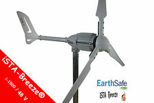 48V---1,5 KW / i-1500 WINDGENERATOR WhiteEdition iSTA-BREEZE® WINDKRAFTANLAGE