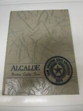 1987 SAM HOUSTON STATE UNIVERSITY YEARBOOK  - HUNTSVILLE, TX. / ALCALDE .. LQQK