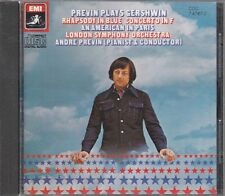 CD- RHAPSODY AN AMERICAN IN PARIS - GERSHWIN - PREVIN -- EMI CDC7471612 --- ZCD1