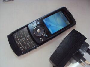 BASIC CHEAP RETRO  SPARE Samsung U600 ULTRA EDITION 2 EE,ASDA,TMOB+CHARGE