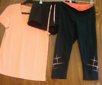Womens Target Activewear x 3 Excellent preworn condition size 10