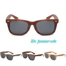d184bd2cd12 Eyewear Men Women Sunglasses Cute Sun Glasses Wood Wooden Pattern Frame  UV400