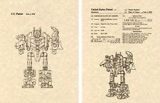 Transformers ABOMINUS US Patent Art Print READY TO FRAME Shibukawa 1987 G1