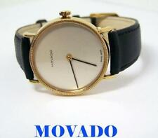 Vintage Goldplated MOVADO by ZENITH Unisex 17J Winding Watch* EXLNT* SERVICED