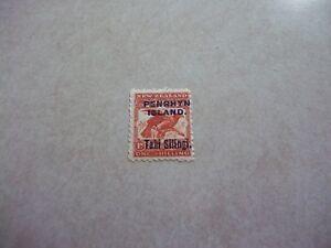 PENRHYN COOK ISLANDS Stamp SG 16 Scott 12b BROWN RED Birds OG LH