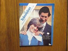 July 26, 1981 Detroit News Television Magazine(LADY DIANA/PRINCE CHARLES/WEDDING