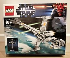LEGO STAR WARS B- WING STAR FIGHTER (10227) - NEW EXCELLENT CONDITION