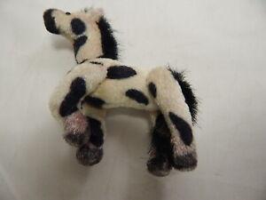 "World of Miniature Bears 3""x3"" Plush Horse Paint #5819 Defective"