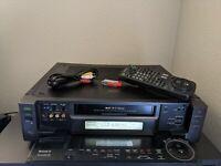 REFURBISHED! Sony SLV-R1000 Super S-VHS SVHS Player Recorder HiFi Stereo NTSC