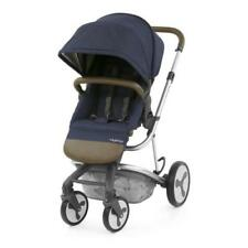 Poussettes et systèmes combinés de promenade bleus chancelière, tablier pour bébé