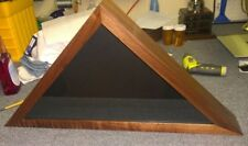 Flag Display case American Military Burial Memorial Funeral flag made in US
