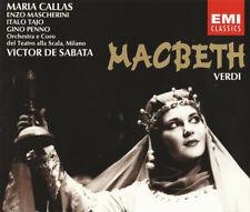 EMI 0777 7 64944 2 5 VERDI Macbeth MARIA CALLAS 2CD NEW SEALED