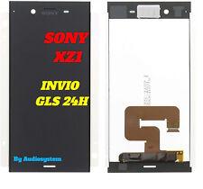 "DISPLAY LCD+TOUCH SCREEN SONY XPERIA XZ1 5,5"" G8341 G8342 SCHERMO VETRO NERO"