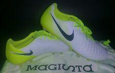 Nike Magista Opus II AG-PRO, White/Black/Volt-Pure Platinum, Size 8.5 843814-110