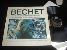 SIDNEY BECHET/12 PREVIOUSLY UNISSUED RECORDINGS/RIVERSIDE/FRENCH PRESS BIEM NM
