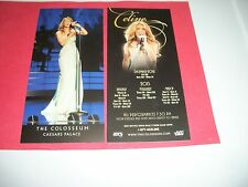 Celine Dion Advertising Flyer