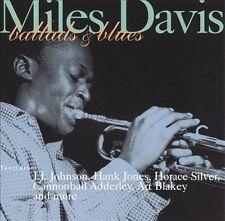 Miles Davis - Ballads and Blues (CD, 1996, Jazz Heritage) LIKE NEW