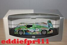 1/43 2000 AUDI R8 ALMS LE MANS ADELAIDE WIN CAPELLO MCNISH MINICHAMPS DEALER ED