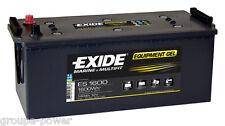Batterie GEL Exide ES1600 12v 140ah decharge lente camping car, bateau,solaire