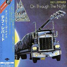 Def Leppard - On Through the Night (CD, 1980, Universal Music, Japan w/OBI)