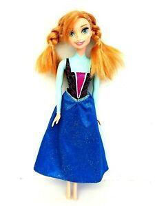 Mattel Disney Frozen Princess Elsa Anna Of Arendelle Doll Figure 2013 28CM