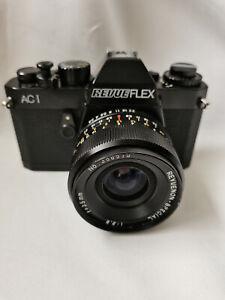 Revue Flex AC1 Spiegelreflexkamera mit Lens Objektiv.