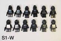 Lego Star Wars Tie Fighter Pilot Minifigure Lot Of 12 w/ Blasters