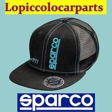 01230NR SPARCO Berretto Cappellino Rebel con Logo in 3D Grafica Ricamata