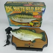 Big Mouth Billy Bass Animated Singing Fish Dont Worry Happy Motion Activated '98