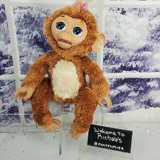 🙊FurReal Friends Cuddles My Giggly Monkey Pet Chimp Animatronic Plush *WORKING