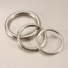 Runde Ringe / O-Ringe Edelstahl Rundring geschweißt in verschiedenen Größen