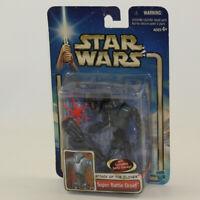 Star Wars - Saga - Action Figure - Super Battle Droid (3.75 inch) *NON-MINT BOX*