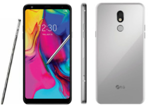 *NEW  LG Stylo 5 - LMQ720 - 16GB Silvery-White (T-Mobile - GSM Unlocked)