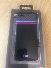 BMW TPU Hard Shell Carbon iPhone 6 & iPhone 6s Case Cover w/M3 Stripe Black Q22