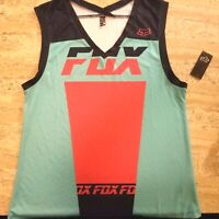 Fox racing tank top womens Large mountain biking xc dh bike
