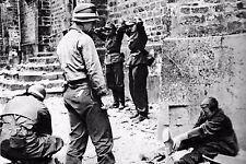 WW2 - Prisonniers allemands en Normandie en juin 1944