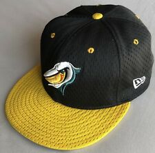RARE Myrtle Beach Pelicans MiLB New Era 59FIFTY Hat 7 1/4 MADE IN U.S.A.