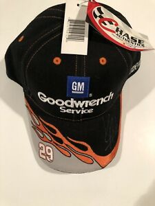 Kevin Harvick #29 Chase Authentics GM Goodwrench RCR Signed Hat - New with Tags