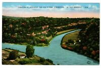 Unused Postcard Junction of Kentucky and Dix Rivers Highbridge in old KY