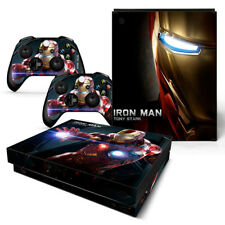 Xbox One X Sticker Set Protective Skin Console & Controllers - 0498 - Iron Man